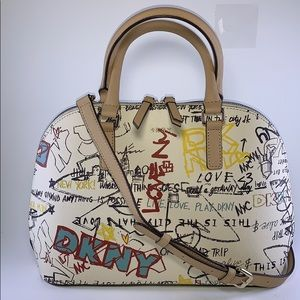 DKNY medium dome satchel